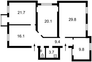 Офис, Хмельницкого Богдана, Киев, Z-598164 - Фото2