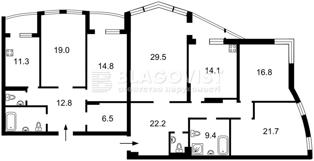 Квартира R-33700, Леси Украинки бульв., 30б, Киев - Фото 4