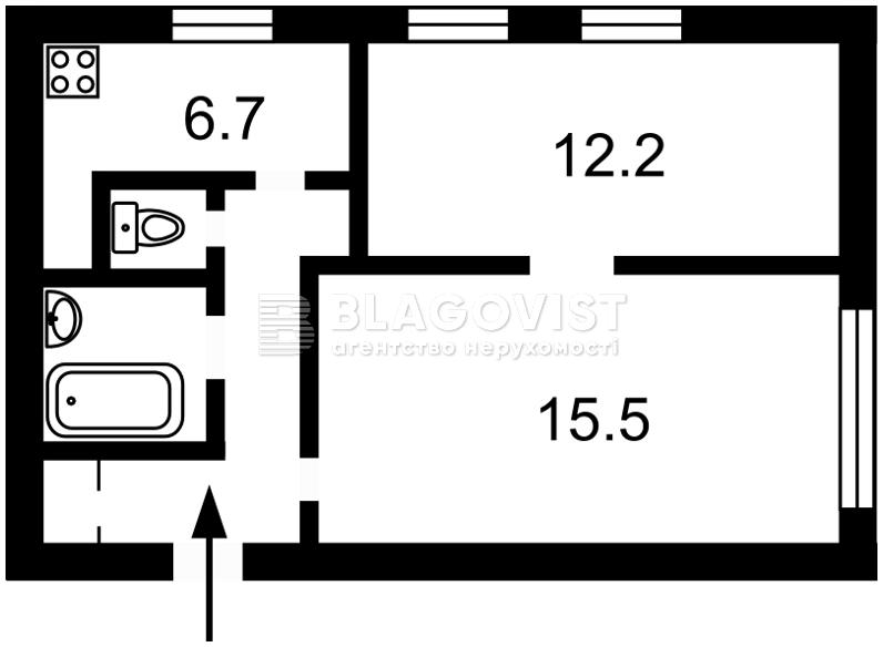 Квартира H-16103, Коновальца Евгения (Щорса), 18, Киев - Фото 2