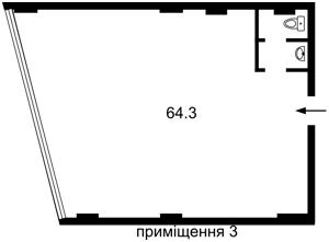 Офис, Бойчука Михаила (Киквидзе), Киев, Z-695895 - Фото 4