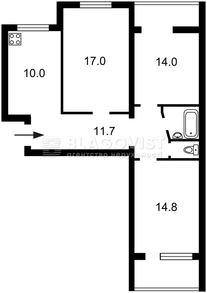 Квартира H-48841, Драгоманова, 25, Київ - Фото 5