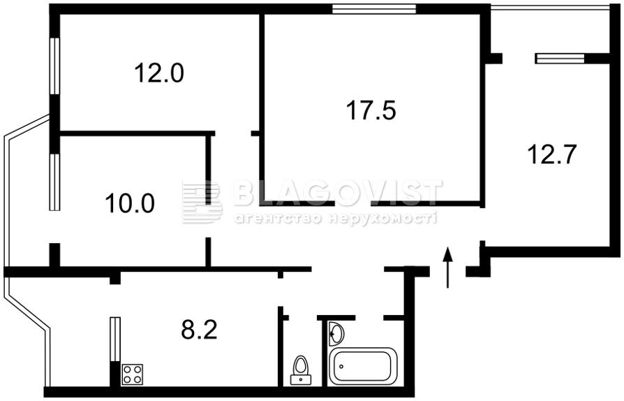 Квартира Z-726612, Драгоманова, 20, Киев - Фото 4