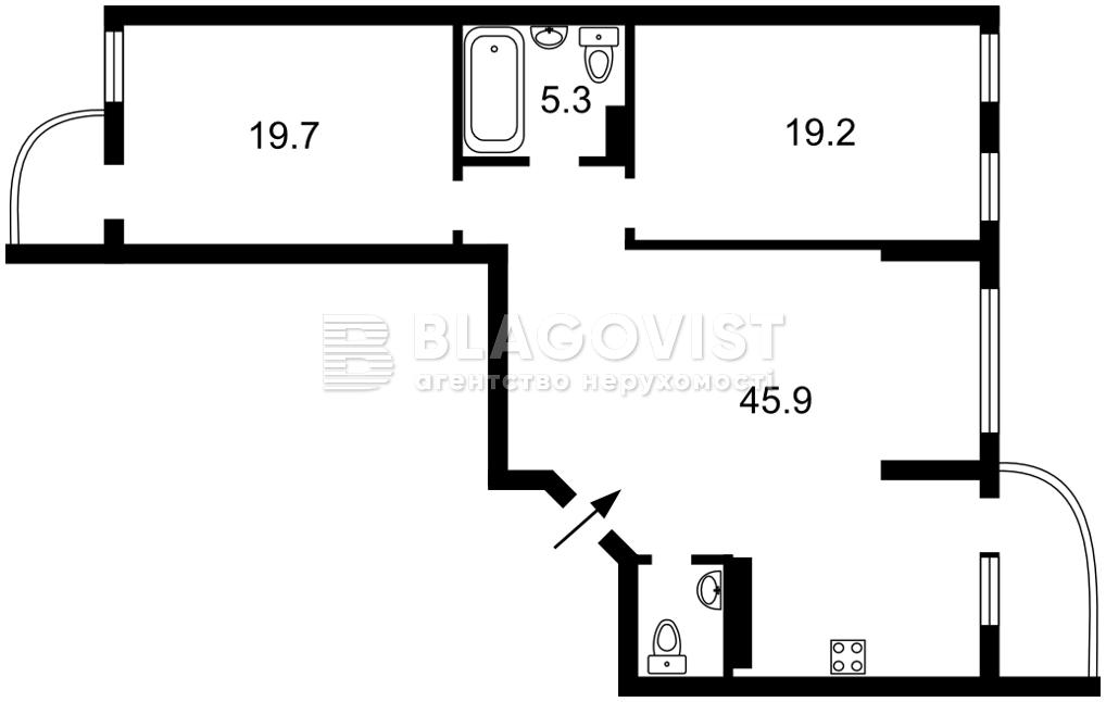 Квартира F-44132, Лобановского просп. (Краснозвездный просп.), 150, Киев - Фото 6