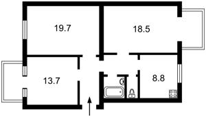 Квартира Белорусская, 32, Киев, H-48896 - Фото2
