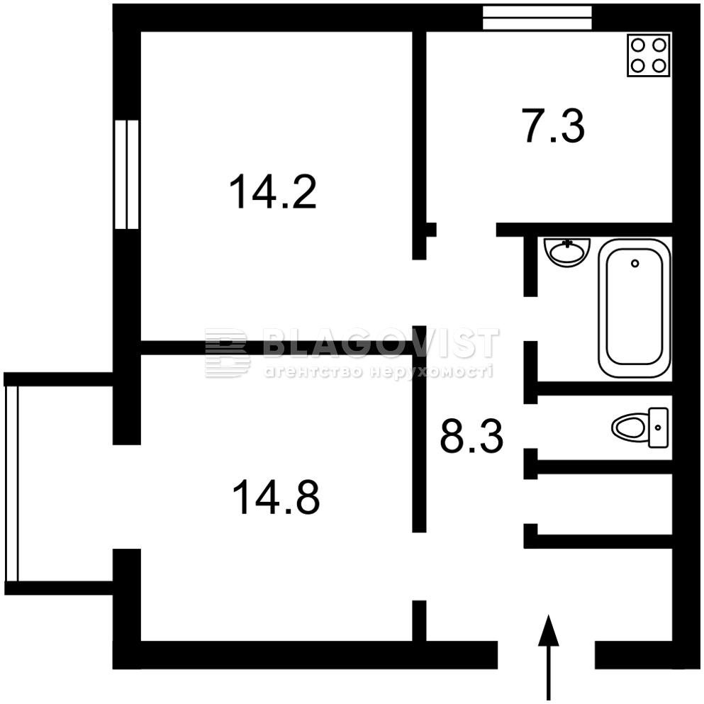 Квартира A-111805, Степанченка Василя, 3, Київ - Фото 3
