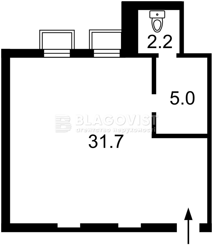 Нежитлове приміщення, F-44173, Липинського В'ячеслава (Чапаєва), Київ - Фото 4