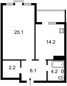 Квартира Голосеевская, 13б, Киев, R-36712 - Фото2