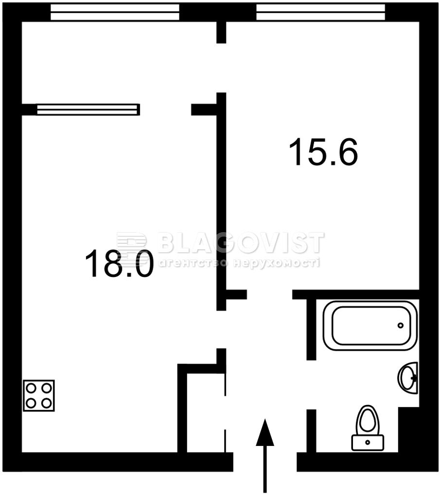Квартира F-44116, Правды просп., 13 корпус 1, Киев - Фото 4