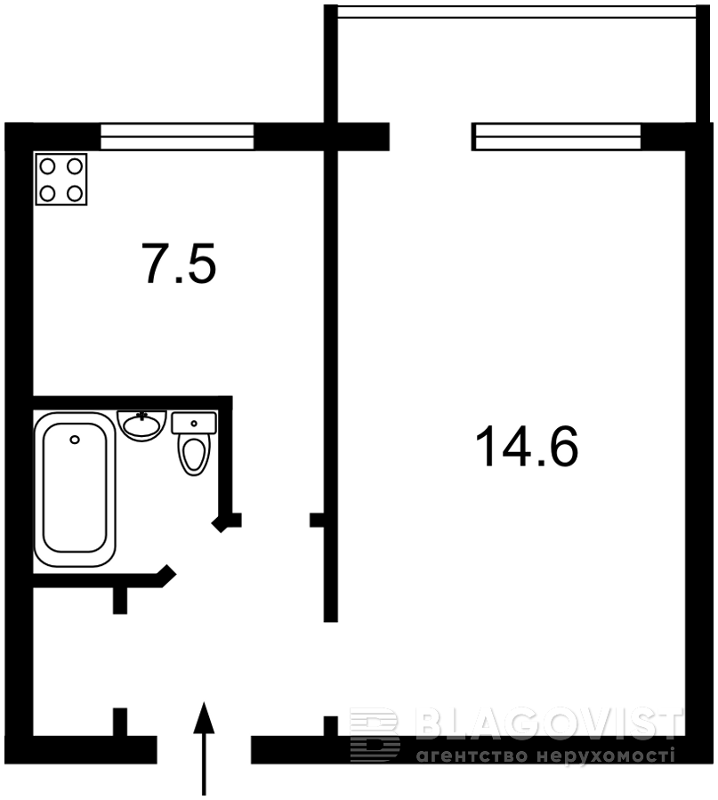 Квартира P-29111, Курбаса Леся (50-летия Октября) просп., 18г, Киев - Фото 2