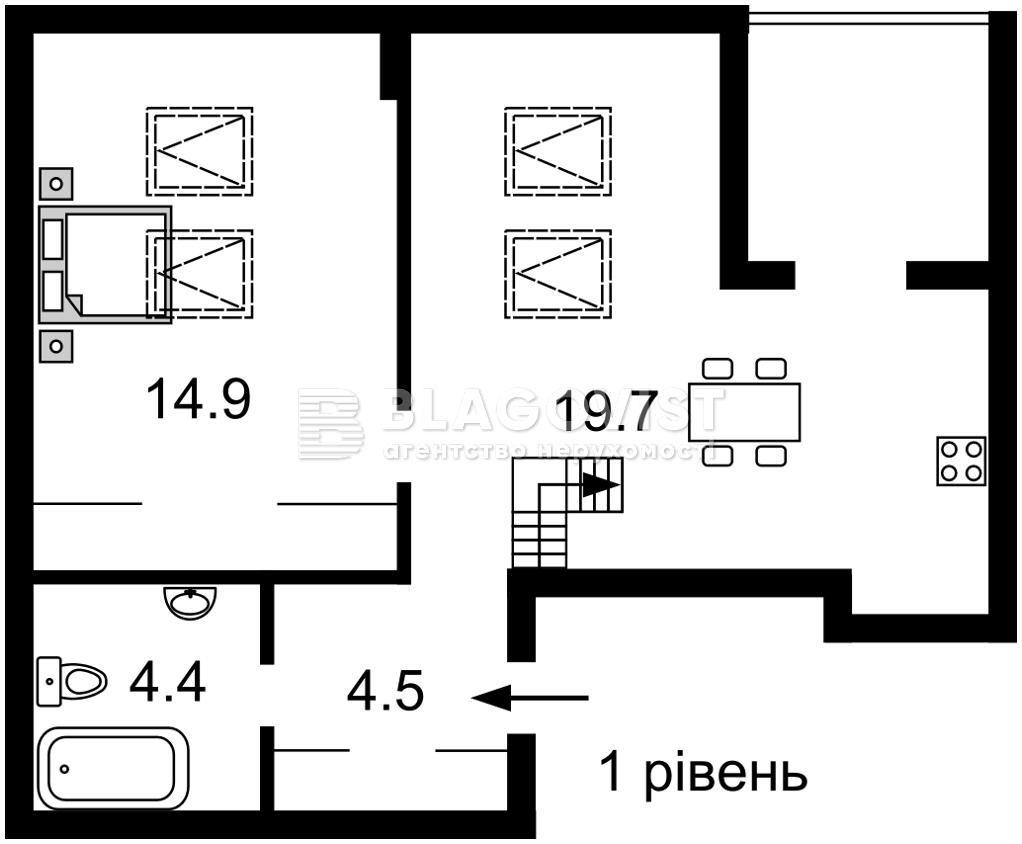 Квартира A-111745, Соборності просп. (Возз'єднання), 17 корпус 2, Київ - Фото 6