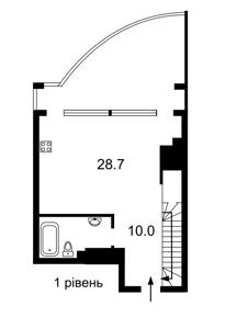 Квартира Лабораторный пер., 7, Киев, Z-729509 - Фото2