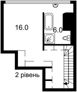 Квартира Лабораторный пер., 7, Киев, Z-729509 - Фото3