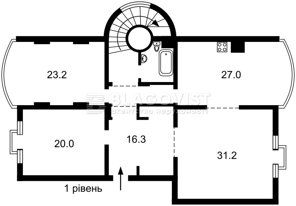 Квартира E-40415, Оболонская набережная, 19, Киев - Фото 2