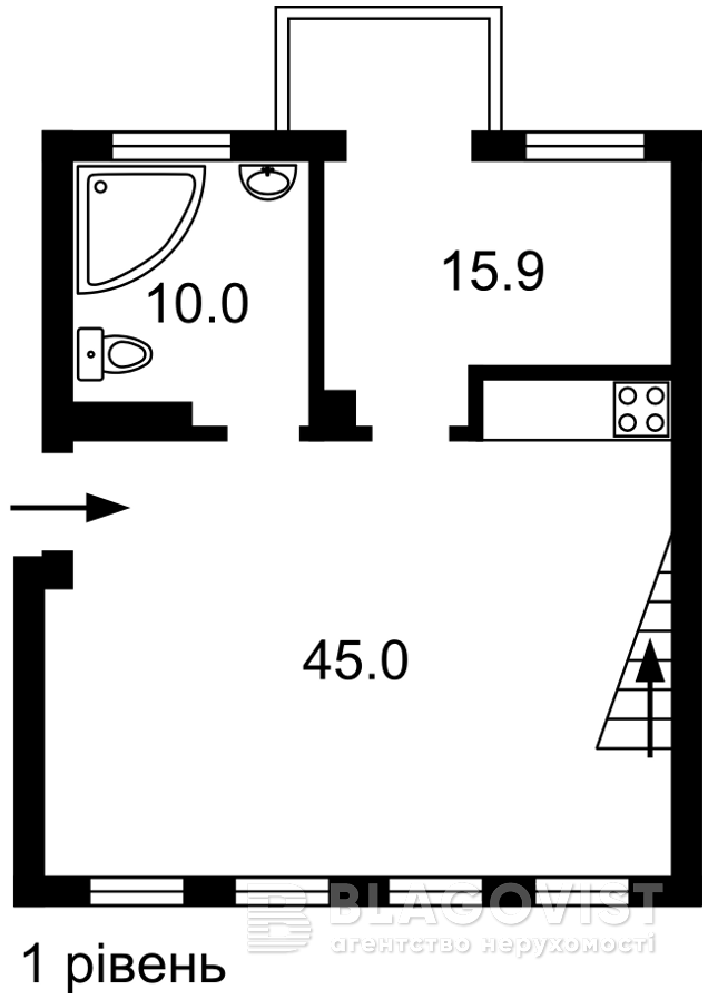 Квартира F-44190, Городецкого Архитектора, 4, Киев - Фото 4