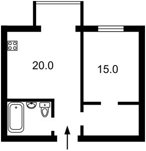 Квартира Антоновича (Горького), 74, Киев, M-38394 - Фото2