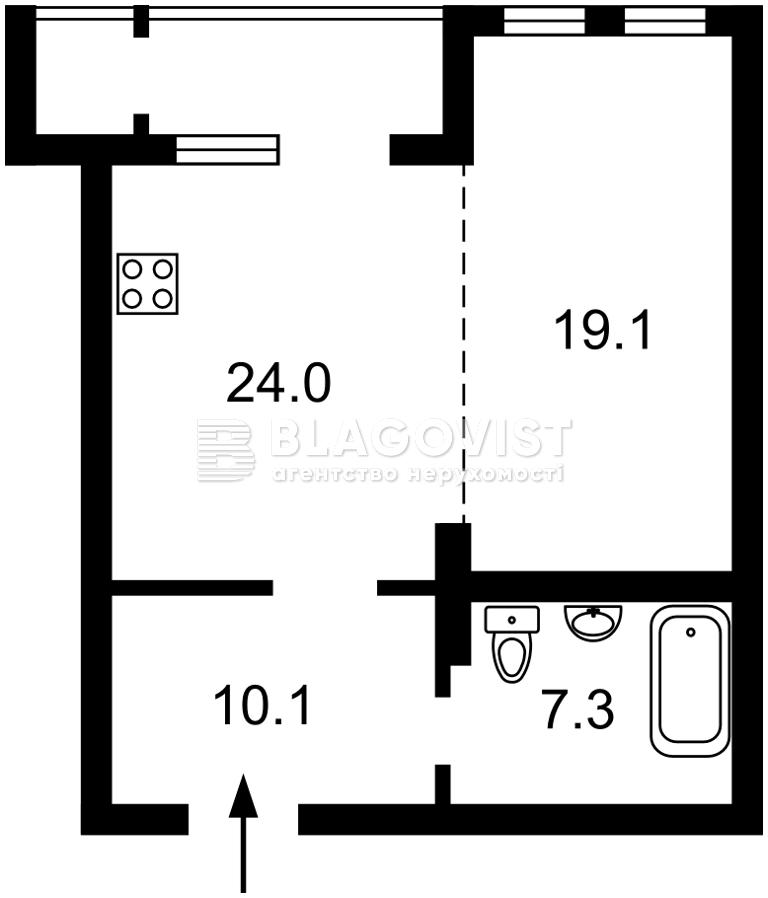 Квартира A-111835, Саксаганского, 121, Киев - Фото 3