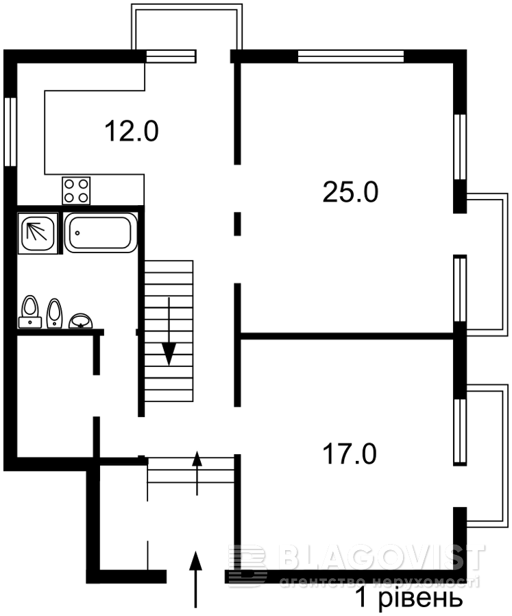 Квартира D-36824, Круглоуниверситетская, 11/19, Киев - Фото 4
