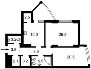Квартира Глубочицкая, 32а, Киев, R-36829 - Фото2