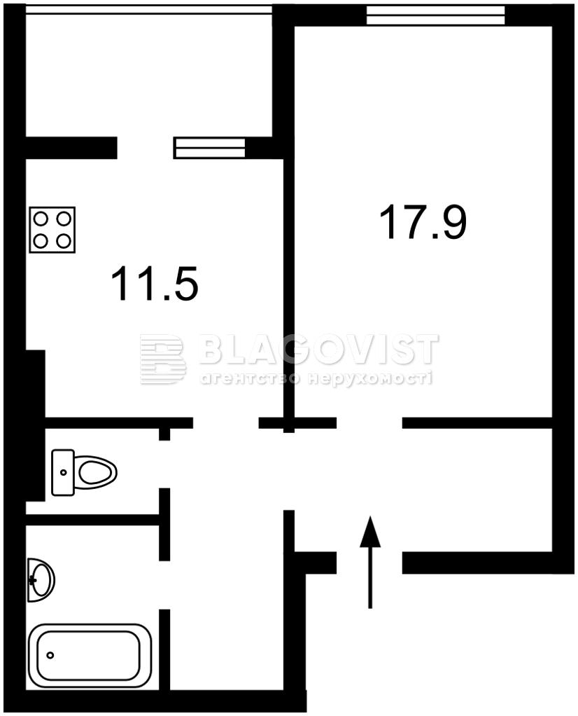 Квартира A-111848, Балтійський пров., 5, Київ - Фото 3