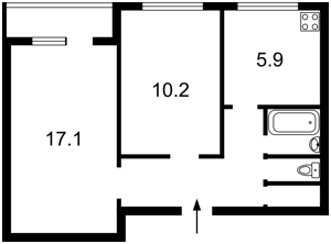 Квартира Оболонский просп., 14б, Киев, Z-728149 - Фото2