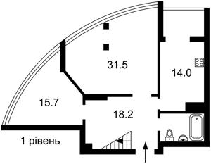 Квартира Никольско-Слободская, 3а, Киев, Z-733842 - Фото2