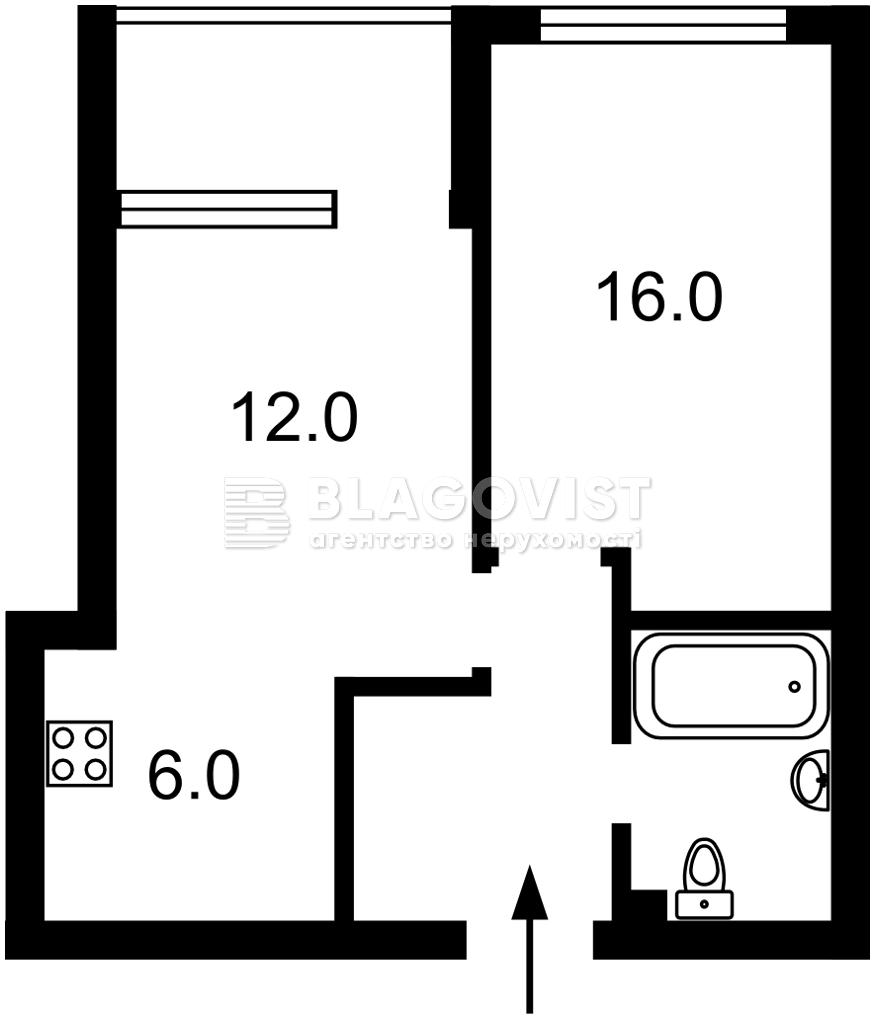 Квартира Z-778228, Правды просп., 41а, Киев - Фото 4