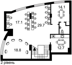 Офис, Победы просп., Киев, P-29174 - Фото 3