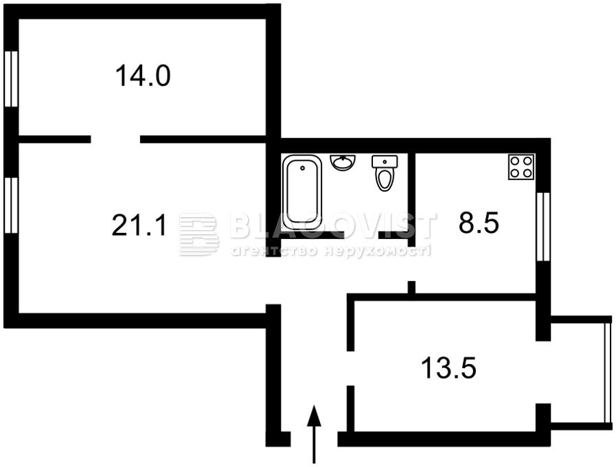 Квартира H-49087, Прорезная (Центр), 10, Киев - Фото 5