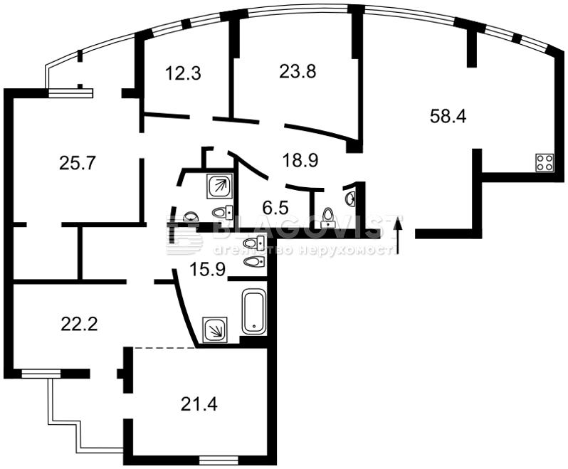Квартира M-38283, Старонаводницька, 13, Київ - Фото 6