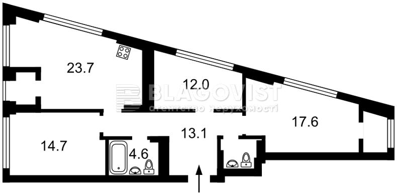 Квартира F-44283, Заболотного Академика, 1 корпус 2, Киев - Фото 7