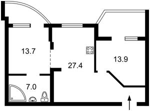Квартира Коломыйский пер., 17/31а, Киев, H-49138 - Фото2