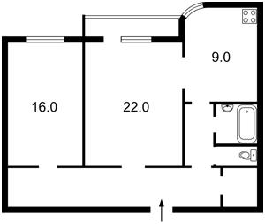 Квартира Шелковичная, 13/2, Киев, Z-728869 - Фото2