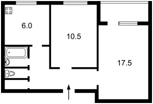 Квартира Перемоги просп., 21, Київ, X-22407 - Фото2