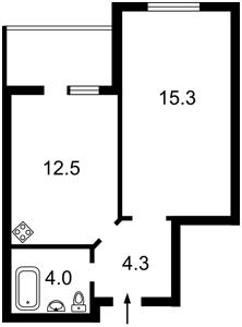 Квартира F-44310, Радченка П., 27-29 корпус 3, Київ - Фото 2