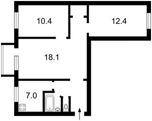 Квартира Первомайского Леонида, 11, Киев, R-36935 - Фото2