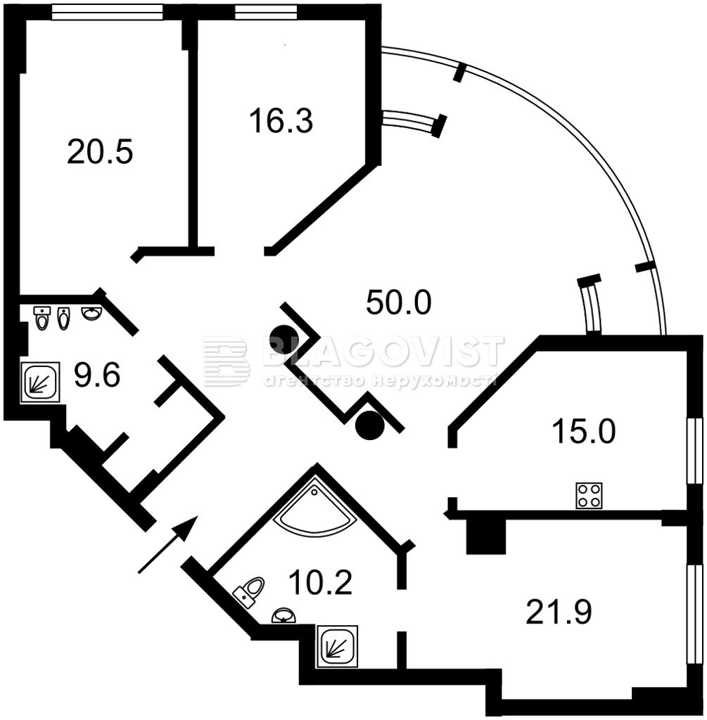 Квартира M-38454, Жилянська, 59, Київ - Фото 6