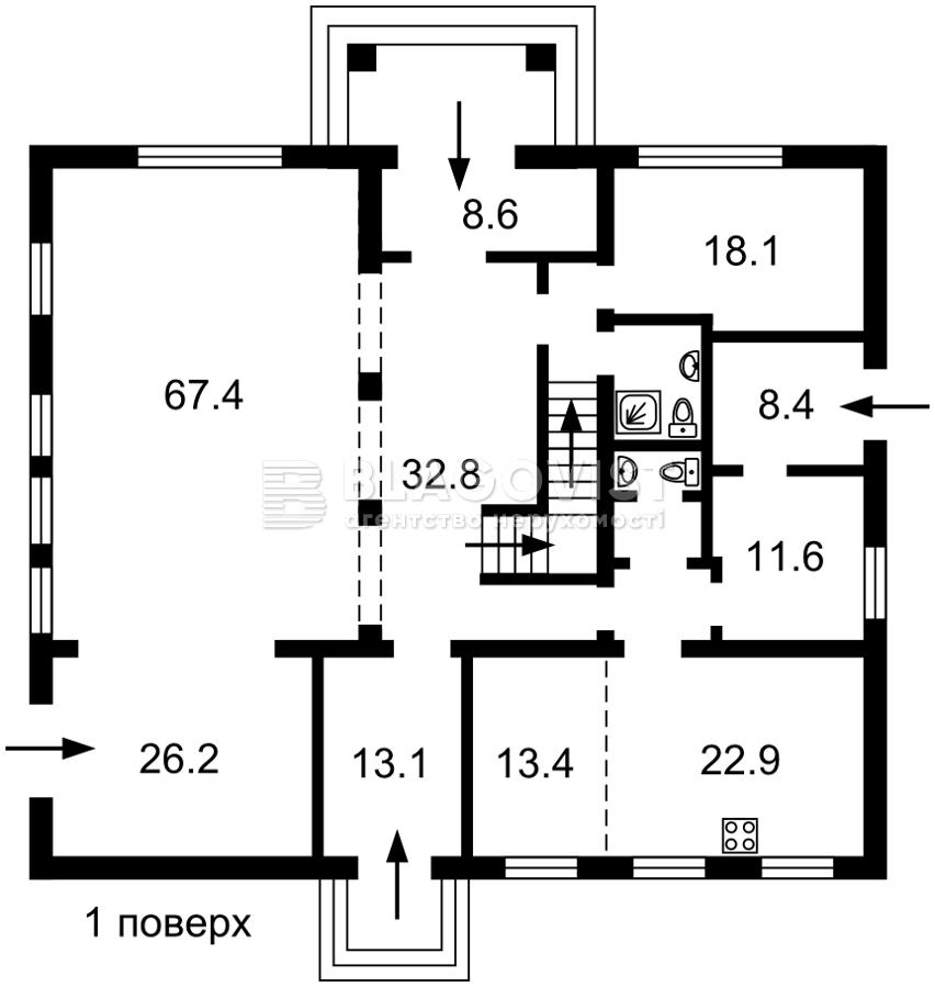Дом C-108684, Лесники (Киево-Святошинский) - Фото 5