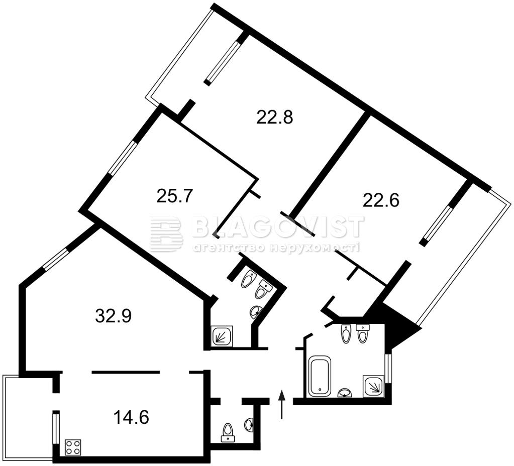 Квартира E-40495, Тургеневская, 52-58, Киев - Фото 3