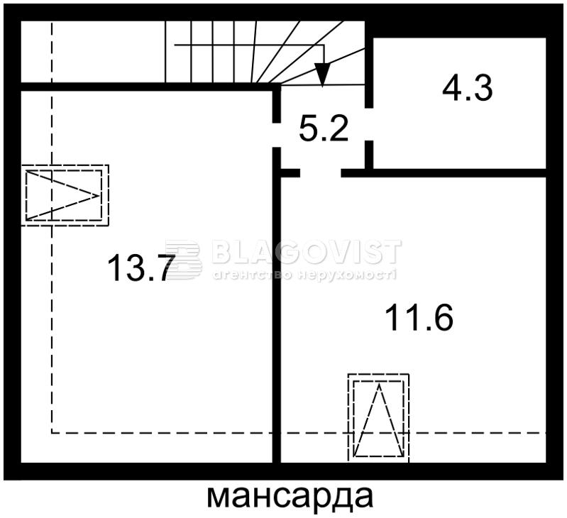 Дом H-45498, Франко Ивана, Вишневое (Киево-Святошинский) - Фото 4