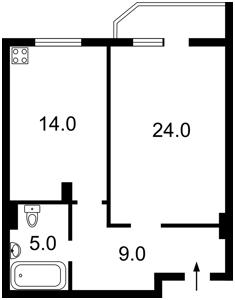 Квартира Дегтяревская, 25а, Киев, Z-733219 - Фото2