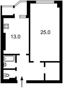 Квартира Днепровская наб., 26г, Киев, M-38483 - Фото2