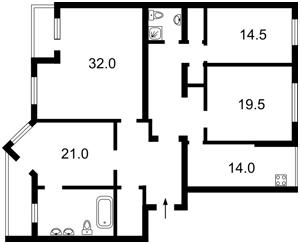 Квартира Нижний Вал, 41, Киев, A-79412 - Фото2