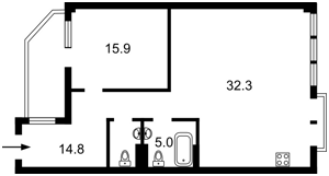 Квартира Спасская, 35, Киев, R-37022 - Фото 2