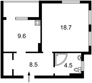 Квартира Глубочицкая, 13, Киев, Z-734113 - Фото2