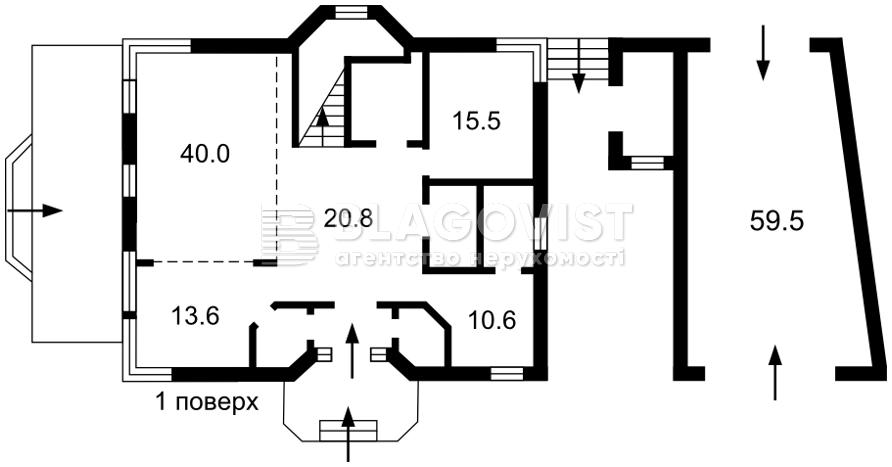 Дом M-37609, Ковшеватского, Кобцы - Фото 5