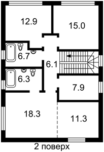 Дом Луговая, Рудыки (Конча-Заспа), M-38520 - Фото 3