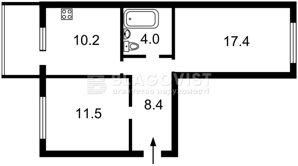 Квартира M-38456, Стеценко, 75б, Киев - Фото 5