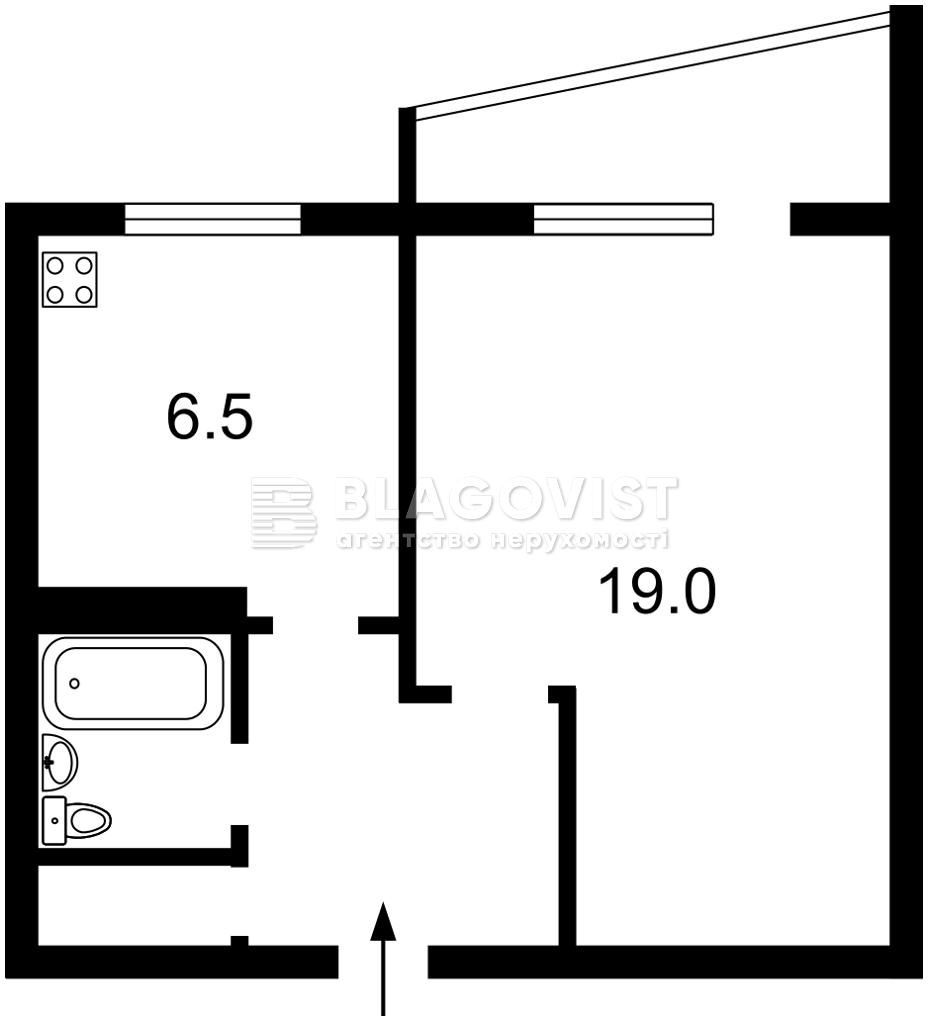 Квартира M-38549, Гусовского Сергея, 2, Киев - Фото 5