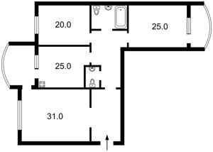 Квартира Героев Сталинграда просп., 10а корпус 5, Киев, R-37024 - Фото2