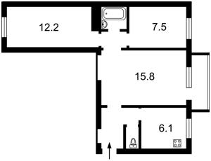 Квартира Большая Васильковская, 118, Киев, F-44418 - Фото2